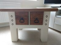 Beautiful Solid Pine coffee table with drawer