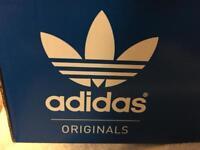 adidas gazelle red size 8