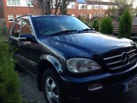 Mercedes ML270 7 seater SAT NAV. (Pioneer) parrot blutooth fully loaded automatic diesel