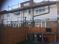 Scaffold to SALE!!!!!! £250 Left over by builder.