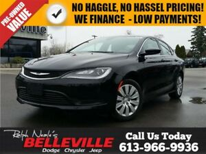 2016 Chrysler 200 LX-ABS Brakes AND Traction Control