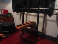 Weights bench multipurpose