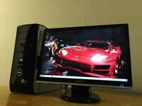 """Dell XPS 430 Quad Core Gaming Desktop Computer PC With Samsung Syncmaster 20"""""""