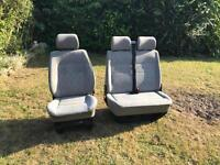 VW Transporter T4 front seats