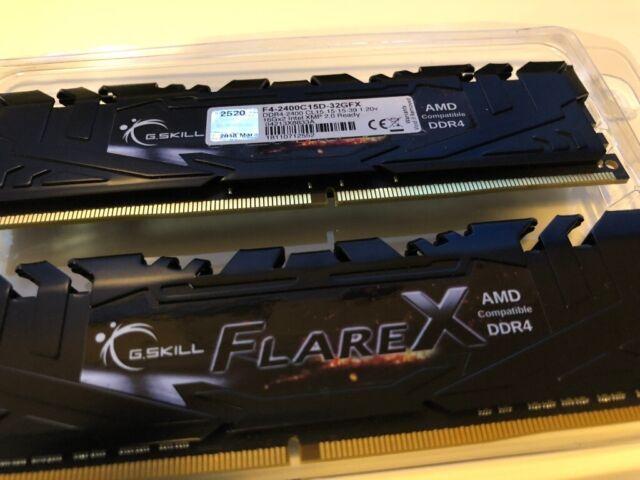 G-Skill Flare X 32GB 2x16 2400Mhz CL15 AMD/Intel DDR4 Ram - Overclocks to  2666Mhz & Above !!! | in South Croydon, London | Gumtree
