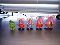Full set of clangers