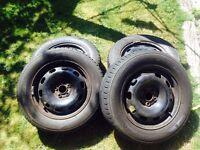 4 winter tyres 195/65 r15
