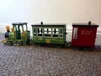 Child's Train & Carriages (Postman Pat)