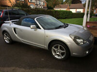 Toyota MR2, 2003, 6 speed, Long MOT