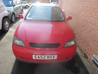 VAUXHALL ASTRA BERTONE 2.2 AUTOMATIC COUPE, RED....