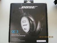 BOSE QC3 QuietComfort Noise Cancelling(FIRST EDITION) NIB