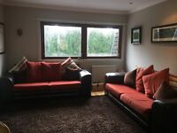 2 large sofas for sale. Great condition. Cushions included.