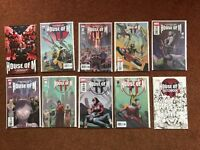 HOUSE OF M - MARVEL - BENDIS/COPIEL - LIMITED SERIES FOR SALE