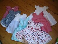 Baby Girl Dress and Playsuit clothes bundle 0-3 months