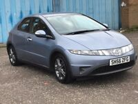 (56) Honda Civic 1.3 SE ,mot -September 2018, full history , 2 owners,astra,focus,megane,corrolla