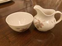 Royal Doulton Tumbling leaves vintage translucent bone china.