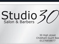 Hairdresser and junior wanted ..full or part time