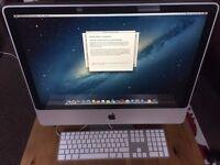 "24"" iMac Desktop - 500gb HD - 4GB RAM - 2007 - OSX 10.8.5 + Apple Keyboard"