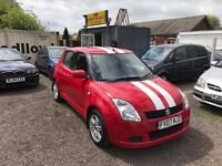 All major credit debit cards accepted- Suzuki Swift 1.3 GL 83,602 miles Manual Petrol MOT 01/06/2018