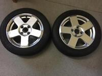 Ford Fiesta/Fusion Alloy Wheels 185-55-R15