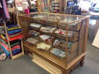 Vintage Haberdashery counter with drawers, very good condition