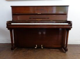 Professional reconditioned overstrung upright by Murdoch & Murdoch, Normelle model, 3-year guarantee