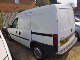VAUXHALL COMBO 1.3 CDTI 2008 VERY LOW MILES EX BBC NEWS LONG MOT WELL MAINTAINED