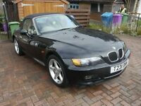 BMW Z3 Convertible Black, Two Owners From New, Full Service History *Low Mileage*