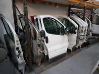 VAUXHALL VIVARO TRAFIC PRIMASTAR DRIVERS OR PASSENGER DOORS 01-14 BREAKING