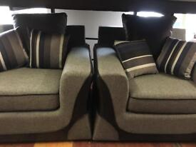 New stylish grey sofa 3.1.1 only £840 complete