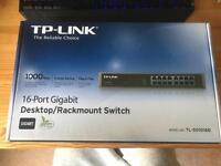 TP-LINK 16-Port Switch