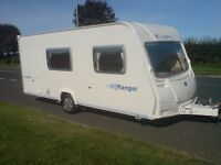 Bailey Ranger 510/4 2007 Series 5 Lightweight 4 Berth touring Caravan