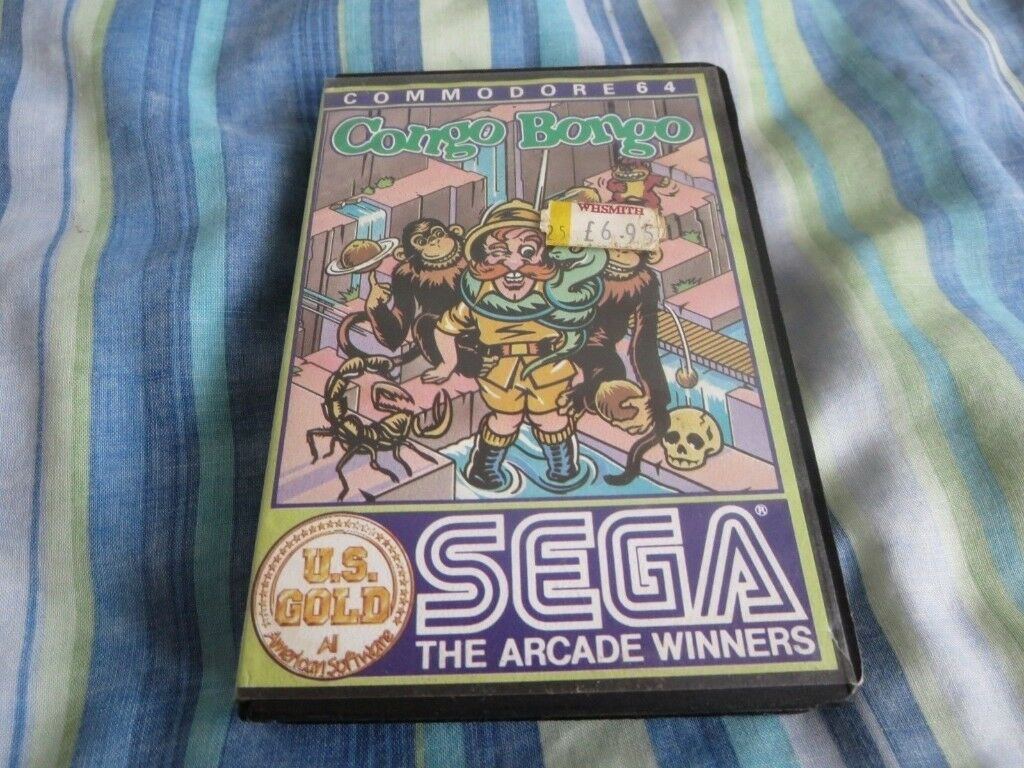 CONGO BONGO Commodore 64 Game SEGA Untested VERY RARE | in Ilford, London |  Gumtree