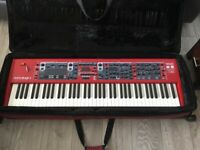 Nord Stage 3 HP76 Hammer Action 76 Key Professional Piano