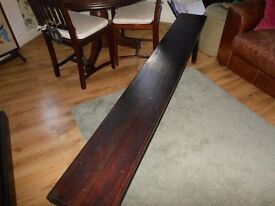 Gorgeous solid lombok Teak Bench - Heavy made to last