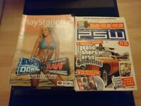 PlayStation 2 magazine/cheat and guide DVDS/books lot