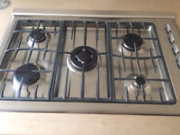 Fisher & Paykel 5 ring gas hob