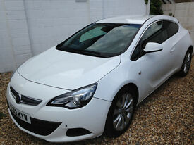 LOW MILEAGE ASTRA-GTC 1.4 TURBO WITH 12 MONTHS MOT & NO ADVISORIES