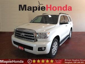2014 Toyota Sequoia Platinum V8| Navigation, Leather, Ext.Warr.T
