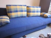 Modern Sofa bed - hardly used