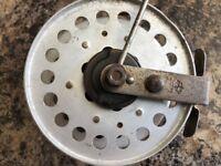Vintage Toxoz fly fishing reel