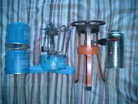 x2 camping stoves