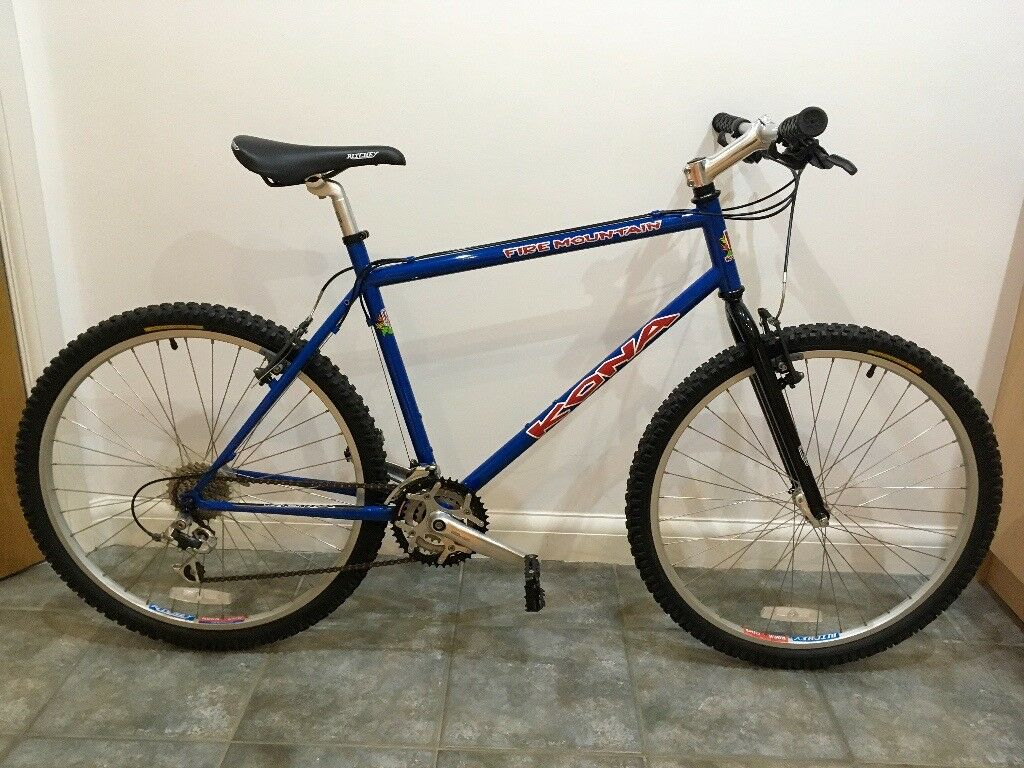 Retro 1998 Kona Fire Mountain 20 Quot Mountain Bike Near Mint