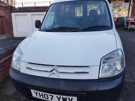 2007 CITROEN BERLINGO 1.6HDI SMALL VAN A1 CONDITION LIKE PEUGEOT PARTNER KANGOO LONG MOT BARGAIN