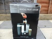 Cookworks Signature Whole Fruit Juicer(COLLECTION ONLY)£30 ONO