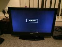 26 Inch Telly With Remote And Built in freeview