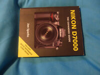 Nikon D7000 'The Expanded Guide' by Jon Sparks. (free post and packing U.K only)