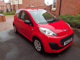 Red Peugeot 107 1.0 12v Access 3dr