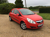 vauxhall corsa breeze air con electric windows long mot hpi clear vgc