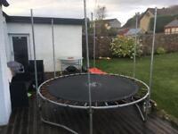 Trampoline 8 foot diameter child garden